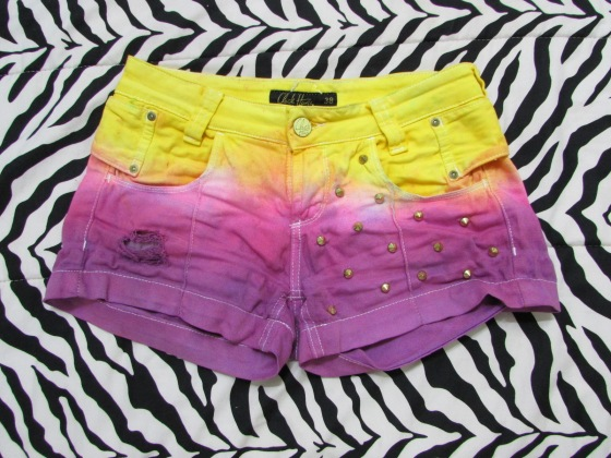 shorts tie dye - sisandfashion